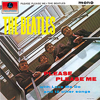 Capa do LP Please Please Me, do Beatles