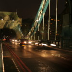 Transito da Tower Bridge